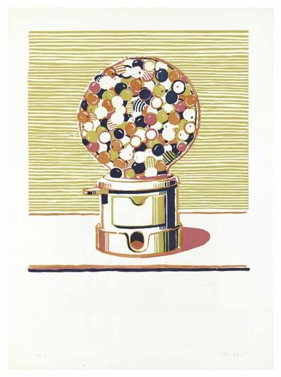 Wayne Thiebaud, 'Gumball Machine', 1970