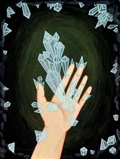 Anne Faith Nicholls, 'Mineral Hand (Left) (The Mineral Girl Series)', 2015