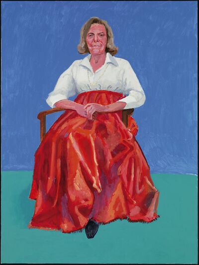 "David Hockney, '""Rita Pynoos, 1st, 2nd March 2014"" from ""82 Portraits and 1 Still-Life""', 2014"