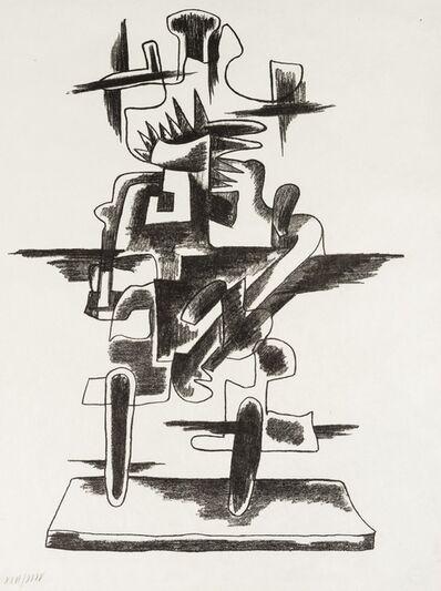 Ossip Zadkine, 'Le Merveilleux Radeau', 1974