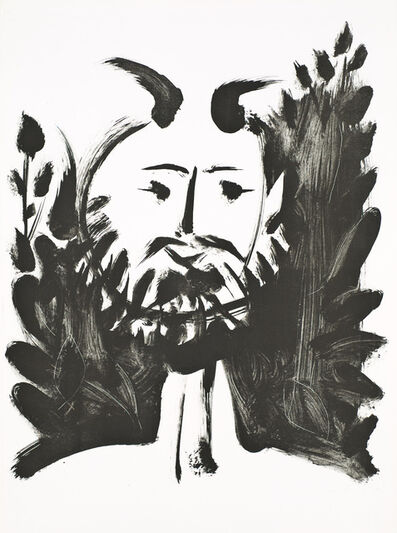 Pablo Picasso, 'Faune Souriant (Smiling Faun)', 1948