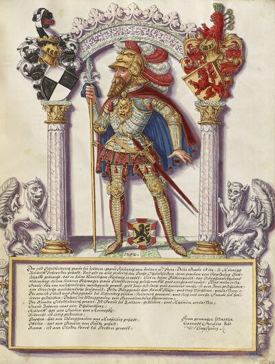 Jörg Ziegler, 'Eitelfriedrich I Hohenzollern', ca. 1572