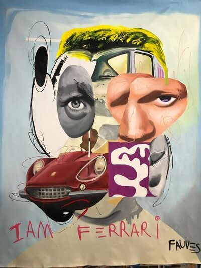 John Paul Fauves, 'I'AM FERRARI', 2019