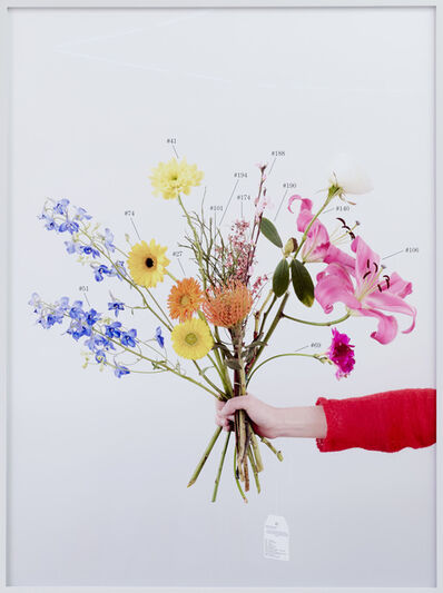 Natalie Czech, 'A Critic's Bouquet by Vincenzo Latronico for the editor', 2015