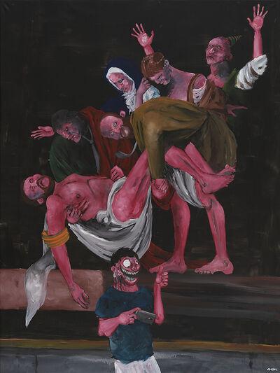 Nicolas Cluzel, 'La mise au tombeau', 2016
