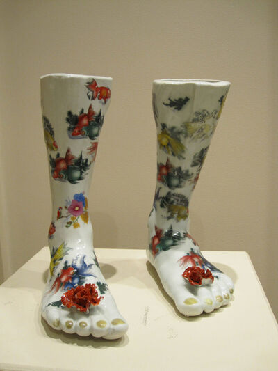 Liu Liguo, 'Porcelain Feet', 2006