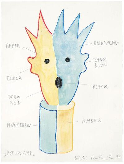 """Kiki Kogelnik, '""""Hot and Cold""""', 1996"""
