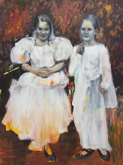 Oda Tungodden, 'Girls in the Garden', 2019