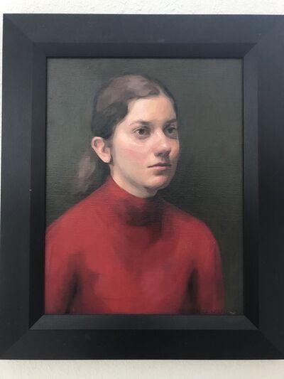 Carlos Martinez Leon, 'Julia in Red', 2017