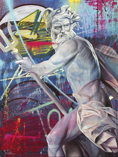 PichiAvo, 'Orphical Hymn IV to Poseidon', 2020