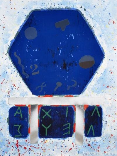 Joe Tilson, 'The Shield of Achilles', 1990