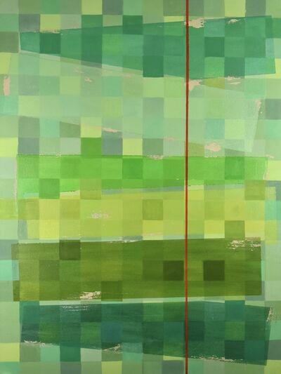Patti Samper, 'Picture Element in Green'
