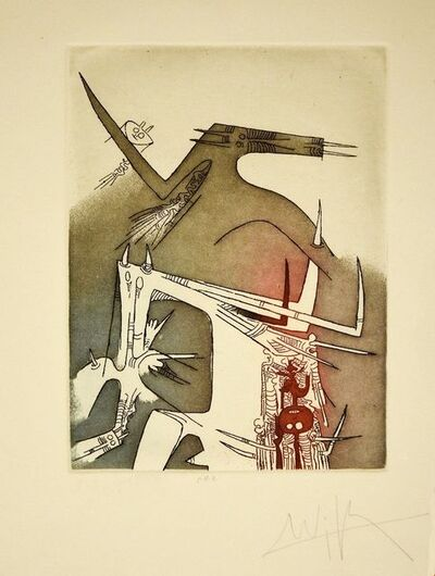 Wifredo Lam, 'Fantastic Composition', 1979