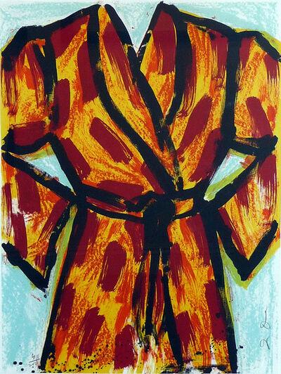 Jim Dine, 'Black Ink Robe', 2005