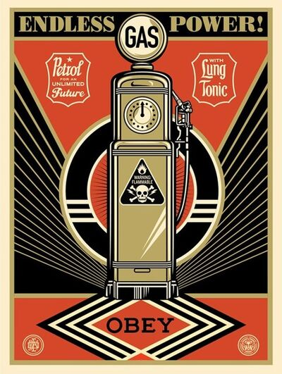 Shepard Fairey, 'Endless Power', 2013