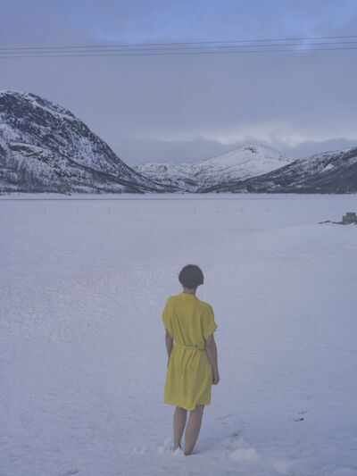Elina Brotherus, 'Yellow in Snow', 2019