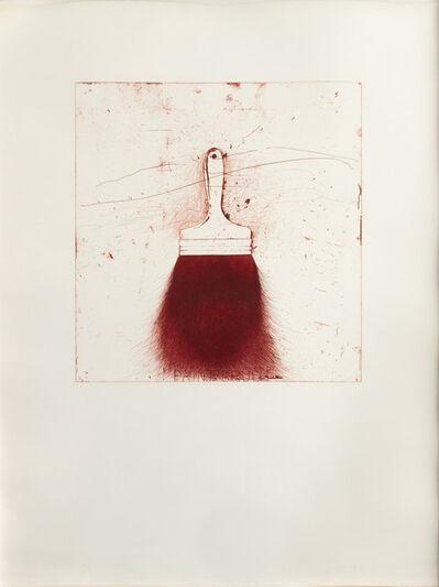 Jim Dine, 'Red Beard', 1973