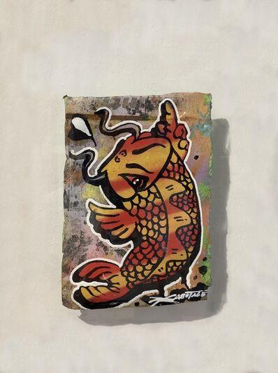 Szabotage, 'Flipping Koi Flame', 2013