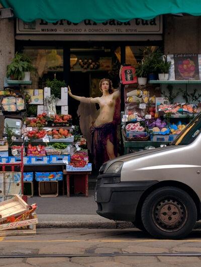 Alexey Kondakov, 'Herbert James Draper 'Gates of dawn'. Frutteto Misino, Milano', 2018