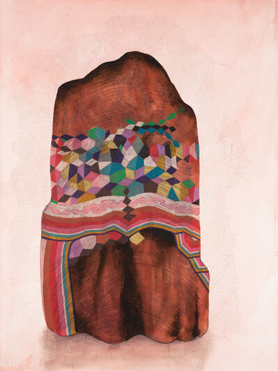 Gala Bent, 'Painted Rock', 2014