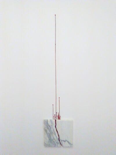 Pedro Terán, 'La herida', 2017