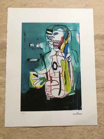Jean-Michel Basquiat, 'Untitled (Anatomical Figure)', 1984