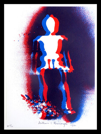 William S. Burroughs, 'X-Ray Man', 1992
