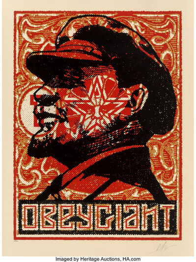 Shepard Fairey, 'Lenin Stamp 2018', 2018