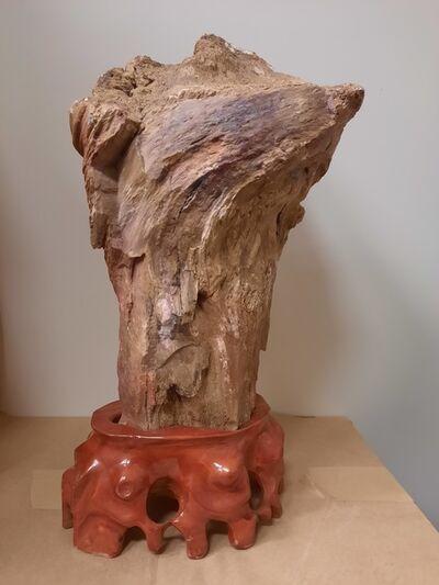 Ken Wong, 'flower', natural stone