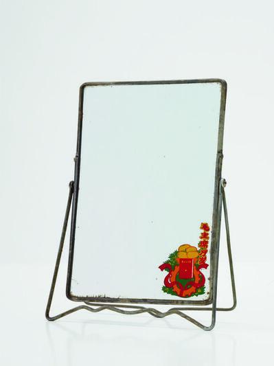 'Small vanity mirror'