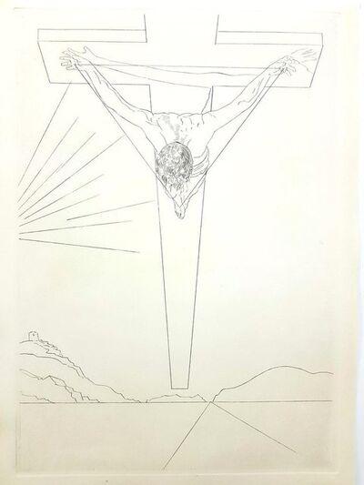 "Salvador Dalí, 'Original Etching ""Christ of St John of the Cross"" by Salvador Dali', 1951"