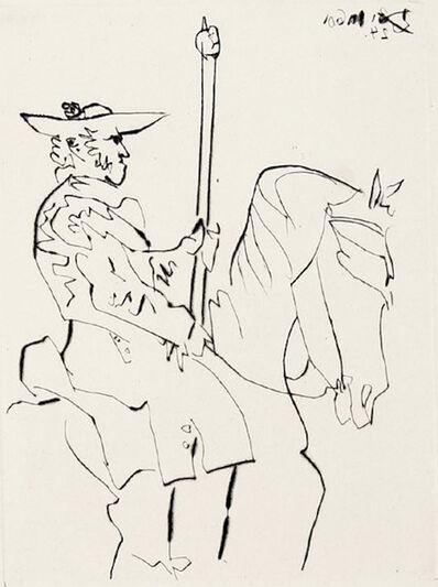 Pablo Picasso, 'Picador au Repos, from Le Carmen des Carmen', 1964