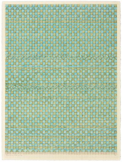 Gloria Matuszewski, 'Aquamarine, Gold & Kelp', 2016