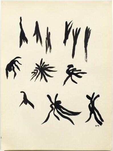 Henri Michaux, 'From: Mouvements', 1950/51