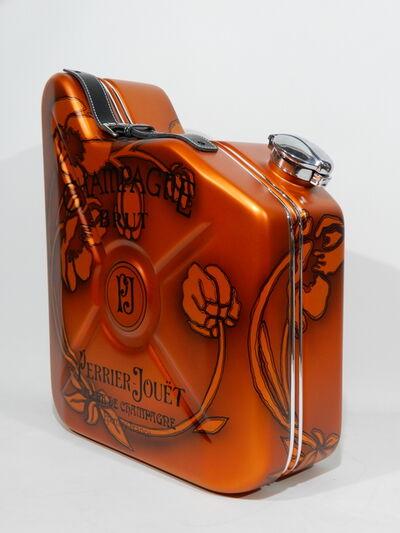 "Erik Salin, 'Gas Can ""Perrier Jouët Champagne""', 2018"