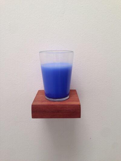 Bob N, 'Um gole de azul (p/ Derek Jarman)', 2015