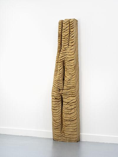 David Nash, 'Strata Column', 1997-2020