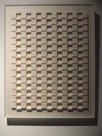 Emile Circkens, 'Structuur reliëf No.4', 1975