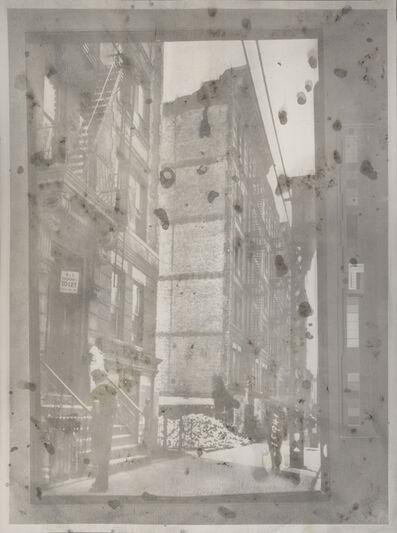 Matthew Brandt, '3984846u1 (Tenement row; demolition site, 1936)', 2014