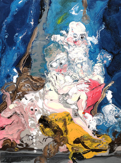 Mary Ronayne, 'Venus at her Bath', 2020