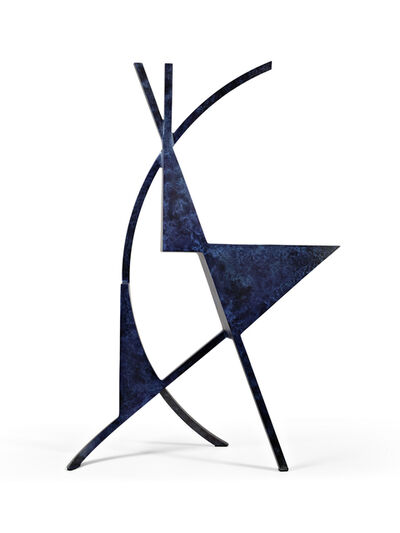 Arthur Carter, 'Three Triangles with an Arc & Two Chords I', 2019