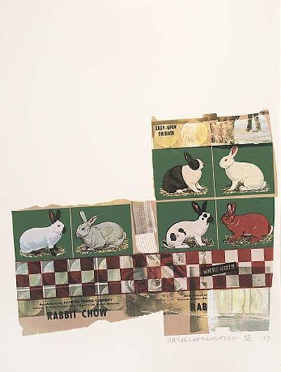 Robert Rauschenberg, 'Chow Bags - Rabbit Chow ', 1977