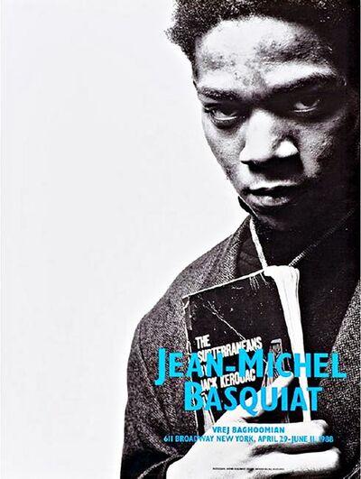 Jean-Michel Basquiat, 'Portrait with Jack Kerouac (Basquiat's final exhibition)', 1988