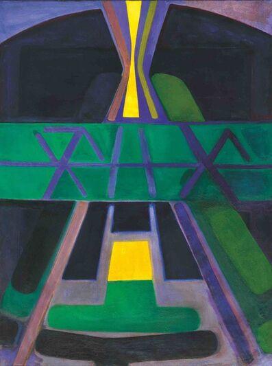 Américo Spósito, 'Desde la luz-Mapuche ', 1989