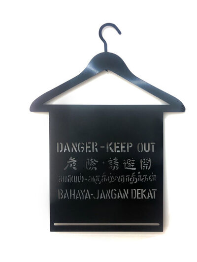 Justin Lee, 'Danger Series - Hanger (Black)', 2020