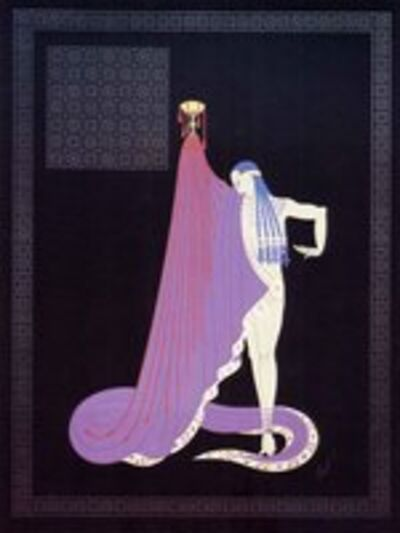 Erté (Romain de Tirtoff), 'The Slave', 1983