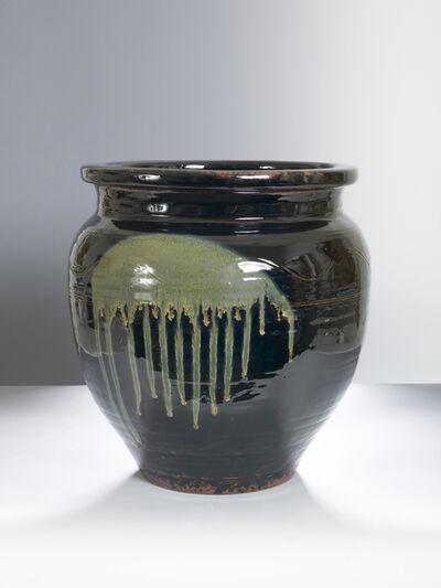 Onda Yaki, 'Large Jar with Black Glaze', n/a