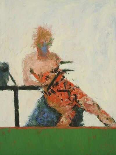 John Goodman, 'Reading Figure No. 1 / figurative abstract expressionism', 2012