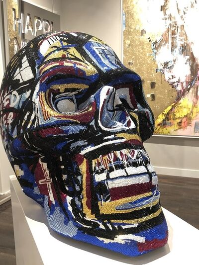 "Metis Atash, 'SKULL large ""MASTERPIECE"" feat. Basquiat, 2019', 2019"