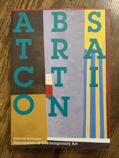 917 Fine Arts Corp., 'Abstraction (Whitechapel: Documents of Contemporary Art) ', 2013